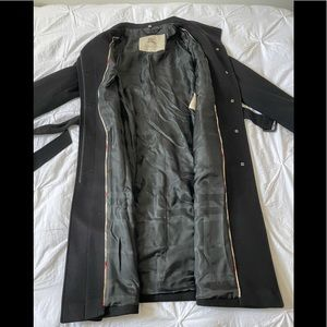 Burberry London Cashmere Wool Belted Coat